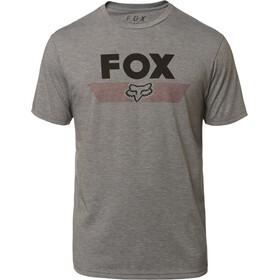 Fox Aviator SS Tech T-Shirt Men heather graphite